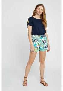 Kurze Hose - Rhea Tropical Shorts - Multi Coloured - People Tree