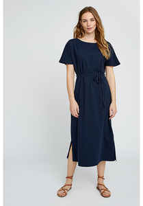 Kleid - Aida Dress - Navy - People Tree