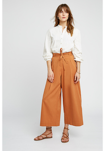 Culotte Stoffhose - Margot Trousers - Hazel - People Tree