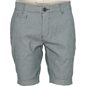 Shorts - Yarndyed 2-col stretched shorts - KnowledgeCotton Apparel