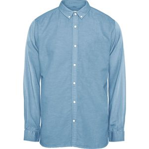 Hemd - Cotton linen long sleeved shirt - KnowledgeCotton Apparel