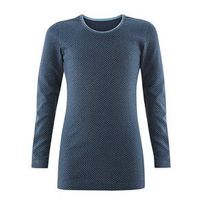 Mädchen Unterhemd Langarm DAISY - Living Crafts