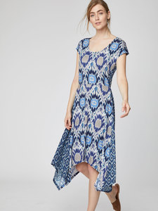 Kleid - Polynesia Dress - Blau - Thought