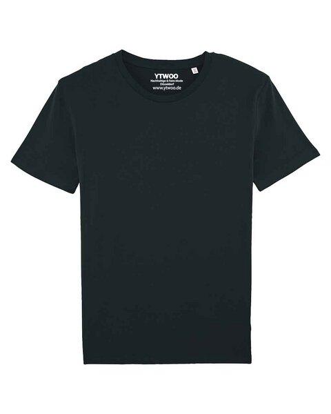Herren Basic T-Shirt aus 100% Bio-Baumwolle, Männer Bio Basic Shirt