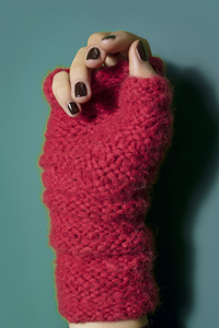 "Handschuhe ""Huantes"" aus Baby-Alpaka - INTI Knitwear"