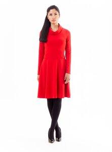 Kleid mit schickem Schalkragen aus Bio-Baumwolle - anzüglich organic & fair