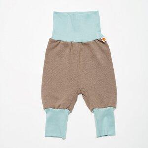 "Sweat Babypumphose ""Sweat taupe/Stone blue"" - Cheeky Apple"