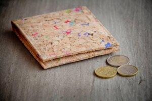 Portemonnaie aus Recycling - Kork / Vegan / Cork Wallet  - BY COPALA