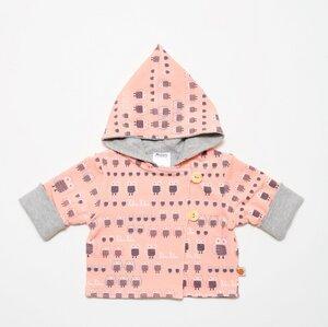 """Wendejacke """"Familie Eule Pink"""" aus Bio-Baumwolle - Cheeky Apple"""