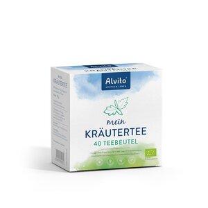 Alvito Mein Kräutertee 40 Teebeutel (80 g) Bioqualität - Alvito