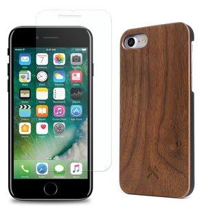 EcoClassic iPhone 7/8/ SE (2020) Case + Panzerglas - Woodcessories