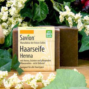 Savion Haarseife Henna 85g - Savion