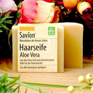 Savion Haarseife Aloe Vera 85g - Savion
