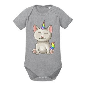 Unicorn Cat - Baby Body Shortsleeve - little BIG Family