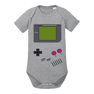 Videospiel - Baby Body Shortsleeve Game Boy  - little BIG Family