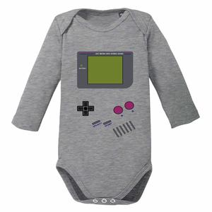 Videospiel - Baby Body Longsleeve Game Boy - little BIG Family