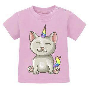 Unicorn Cat - Baby T-shirt Einhorn  - little BIG Family