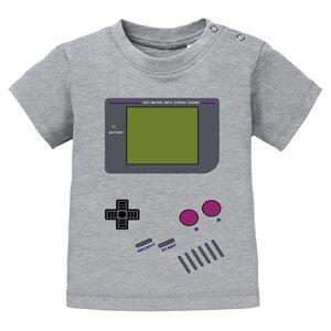 Videospiel - Baby T-shirt - Game Boy  - little BIG Family