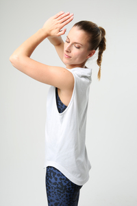Glacier Grey Tank Top - Ambiletics