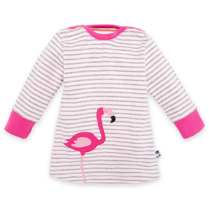 Baby Kleid Flamingo - internaht