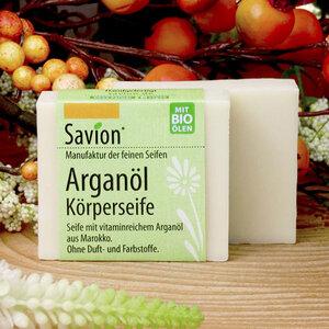 Savion Arganölseife 80g Veganer geeignet - Savion