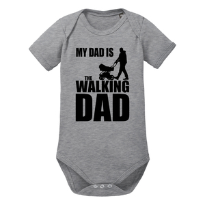 Walking Dad Kurzarm Baby-Body Bio-Baumwolle  - little BIG Family