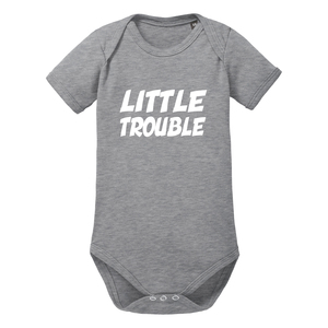 Little Trouble - Kurzarm Baby-Body Bio-Baumwolle  - little BIG Family