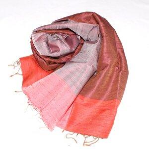 ANTONIA Edler Schal aus handgewebter Seide - Schönes aus Indochina