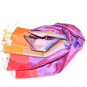 KATALINA Edler Schal aus handgewebter Seide - Schönes aus Indochina