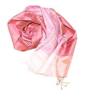 JANE Edler Schal aus handgewebter Seide - Schönes aus Indochina