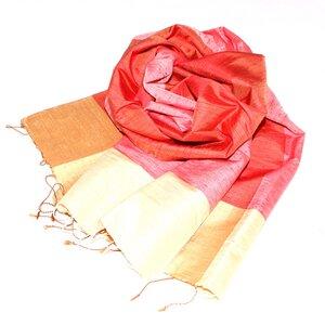 MERYL Edler Schal aus handgewebter Seide - Schönes aus Indochina