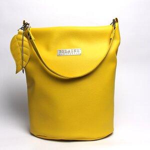 Große Tasche, Tote Bag, vegan, Grau oder Gelb - Belaine Manufaktur