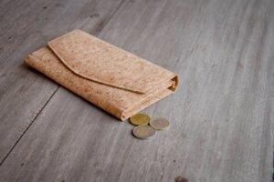 Portemonnaie/ Eco Cork Wallet- Vegan, Brieftasche aus Recycling - Kork - BY COPALA