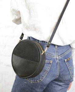 """pikfine runde Eco Leder Tasche """"Alma"""" // 3 Farben - pikfine"""