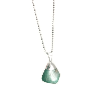 Ava - Amazonit-Halskette - Crystal and Sage