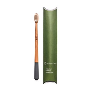 truthbrush – Bambus Zahnbürste mit Rizinusöl-Borsten - truthbrush