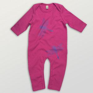 """""""3Azurjungfern"""" Baby Jumpsuit  - HANDGEDRUCKT"""