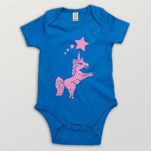 """""""Einhorn"""" Baby Body - HANDGEDRUCKT"""