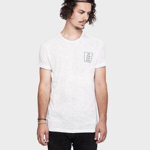 T-Shirt Square White - Vresh