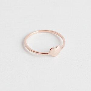 Herz Ring II aus vergoldetem 925er Sterlingsilber inkl Geschenkbox - Oh Bracelet Berlin