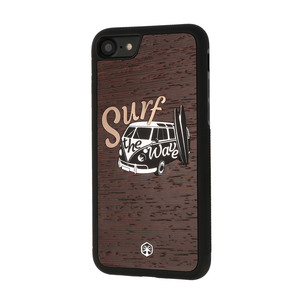 SURF BULLI Holz Hülle Case für iPhone, iPad mini 4 & Samsung Galaxy S9 - WOODTASTIC