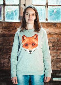 Damen Pullover Fuchs - eco & fair - CircleStances