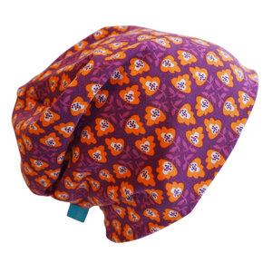 "Mütze ""Line"" florales Ornament - bingabonga"