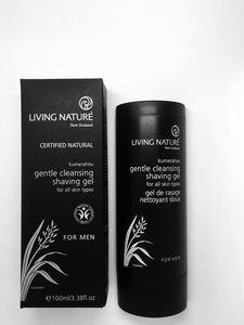 Living Nature Mildes Wasch- und Rasiergel - Living Nature