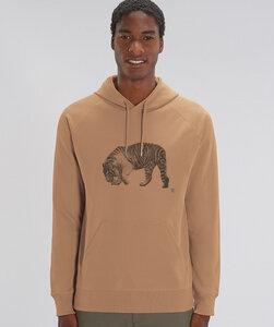 Hoodie mit Motiv / Tiger - Kultgut