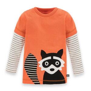 Waschbär-Shirt für Kinder - internaht