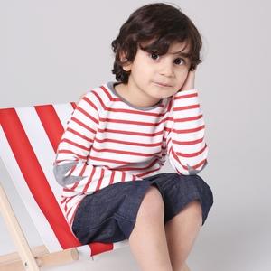 Ringelshirt für Kinder  - internaht