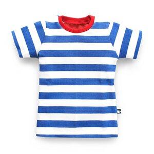 T-Shirt mit Blockstreifen für Jungen  - internaht