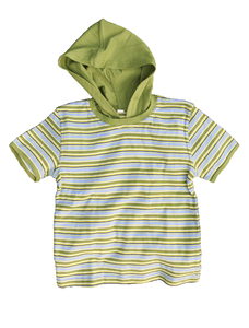 Leela Cotton Kurzarmshirt mit Kapuze - Leela Cotton