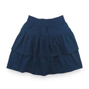 Lässiger Stufenrock für Mädchen  - internaht
